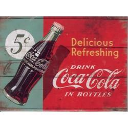 Kylskåpsmagnet Cocacola